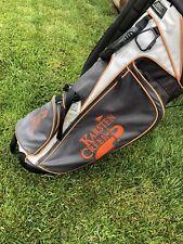 New listing PING Hoofer Voyage Carry Golf Bag- Orange/ black  / Grey (Karsten Creek Edition)