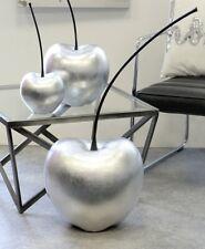 Casablanca Kirsche 42 cm Objekt Celebration silber Keramik Skulptur
