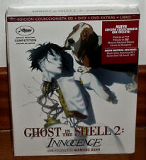 GHOST IN THE SHELL 2 NNOCENCE BLU-RAY+DVD+DVD EXTRAS+LIBRO NUEVO (SIN ABRIR) R2