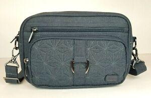 Lug Carousel RFID Convertible Crossbody Bag Gray