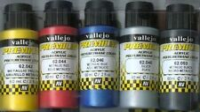 AIRBRUSH READY METALLIC PAINT SET Vallejo Premium Color 60 ml  Pack of 5 bottles