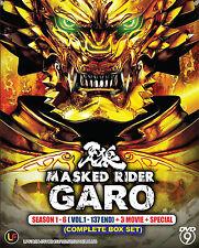 DVD Masked Rider Garo Season 1-6 + 3 Movie +Special_FREE SHIPPING (Complete set)