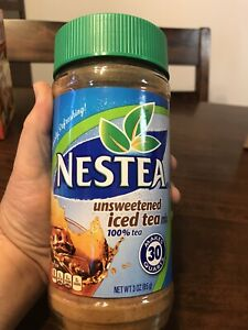 Nestea Unsweetened Iced Tea Mix 3 oz 08/2022