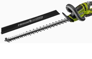 RYOBI ONE+ 50cm 18V 2Ah Li-Ion Cordless Hedge Trimmer Kit -  RHT1851R20S Hedges