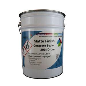 Matt Finish Concrete Sealer-Acrylic, Penetrating, Industrial Resin, Bulk Qty