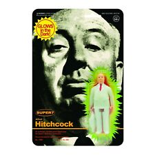 """Super7 Alfred Hitchcock Monster Glow 3.75"""" ReAction Figure"""