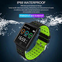 Waterproof Sports Bracelet Smart Watch Blood Pressure Heart Rate for iOS Android