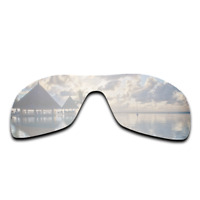 Polarized Silver Mirrored Replacement Lenses for-Oakley Antix Sunglasses