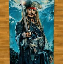 Johnny Depp Towel Beach NEW Summer Bath Pool Gym Pirates Of The Caribbean
