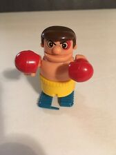 "VINTAGE 1980's Tomy Bumbling Boxing 3"" Figure Yellow Shorts"
