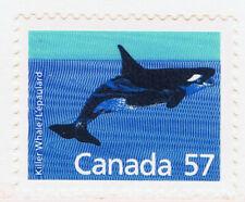 Canada #1173(2) 1988 57 cent WILDLIFE - KILLER WHALE MNH CV$1.50