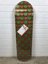 MINI LOGO SKATEBOARD DECK 127/K-12 -8.0 Chevron Gift Wrap Green