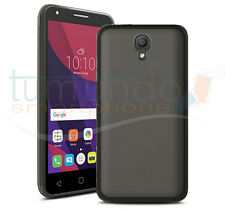 "FUNDA de GEL TPU NEGRA para ORANGE RISE 51 / ALCATEL PIXI 4 (5"") 4G case"