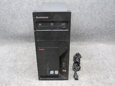 Lenovo ThinkCentre M57p Tower PC Intel Core 2 Duo E8400 3.0GHz 2GB RAM 80GB HDD