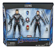 "HAWKEYE + BLACK WIDOW ( 6"" ) VHTF MARVEL LEGENDS AVENGERS ENDGAME ACTION FIGURES"