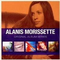"""ALANIS MORISSETTE """"ORIGINAL ALBUM SERIES"""" 5 CD NEU"""