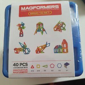 Magformers MF 40 Set mit Aufbewahrungsbox
