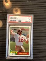 1981 Topps Joe Montana Rookie Card #216 PSA 7 NM Had Card For Over 8 Or 9 Years.
