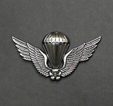 S.Korea Korean Army Airborne Jump Wings Parachute Parachutist Insignia Badge Pin
