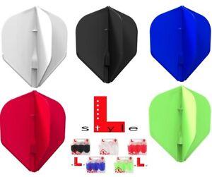 L-Style Dart Flights EZ L1 standard mit champagne Ring universal für alle Shafts