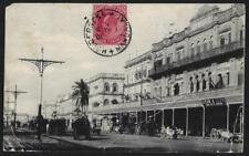 INDIA UK BURMA 1907 ONE ANNA K EDWARD TIED HOLDERNESS MANDALAY B.O. NOV 24 1907
