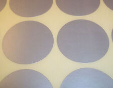 100 Silver 13mm 1/2 Inch Colour Code Dots Round Stickers Sticky ID Labels