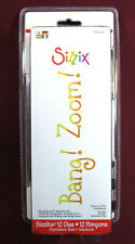 Sizzix Dies, Bang! Zoom! Alphabet Set, VERY RARE with Case(12 Dies)Sizzlits NEW