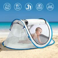 Baby Beach Tent UPF 50+ UV Protect Waterproof Pop Up Travel Tent Mosquito Net