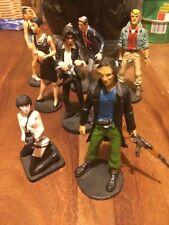 Action Figure 2 - 7 personaggi fumetti 3d - lotto - stock - 6-8 cm