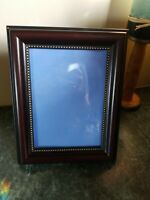 """Beautiful Vintage Ornate Cherry Gold Picture Frame Tabletop Wall Holds 5"""" x 7"""""""