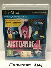 JUST DANCE 4 - SONY PS3 - GIOCO NUOVO SIGILLATO PAL VERSION - NEW SEALED