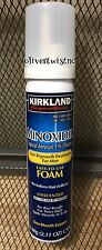 MENS KIRKLAND COMPARE TO ROGAINE FOAM 5% 1 Month Supply 2.11 oz Can EXP AUG2020