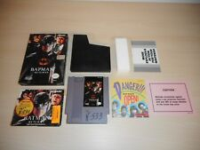 Batman Returns Complete Nintendo NES Game CIB Original