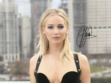 Jennifer Lawrence SIGNED PHOTO RED SPARROW PREMIERE CANDID AUTOGRAPH