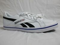 Reebok Size 11.5 M Court Low White Leather Athletic Sneakers New Mens Shoes NWOB