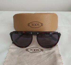Tod's Sunglasses Havana Brown Mod 32/10 TO39A 54A