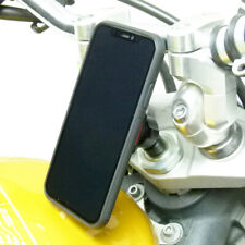 Universal Motorcycle Stem Mount and TiGRA Fitclic Case for iPhone XS MAX