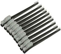 "10pc 7"" Double Ended Gun Cleaning Brush Set - Nylon Bristles"