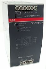 Abb CP-e 24/5.0 fuente de alimentación 120w switch mode power supply en 115-230v ~ out 24vdc 5a