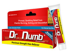 Dr Numb Topical Anesthetic Cream Tattoo Laser Pain Reliever 30g EXPIRY 6/2022