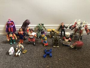 Vintage Action Figure Toys Lot Inc Transformer Rock Lord Dragonball Meteorbs