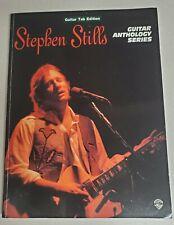 STEPHEN STILLS ANTHOLOGY GUITAR TAB TABLATURE SONGBOOK MUSIC BOOK CSN