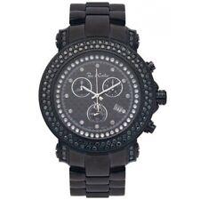 New Authentic Mens Joe Rodeo Junior JJU148 4.75 CT.aprx.Black Diamonds Watch