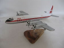 Lockheed L-188 Electra PSA Airplane Desktop Wood Model