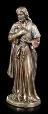 Jesus Figur mit Lamm - Veronese Heiligen Figur Christus Religion Dekostatue