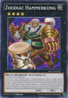 3x Zoodiac Hammerkong - MACR-EN047 - Common - 1st Edition MACR - Maximum Crisis