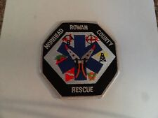PATCH FIRE RESCUE MEDICAL MOREHEAD ROWAN COUNTY RESCUE