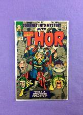 Journey Into Mystery #123 (1965):  Absorbing Man! Odin! Kirby Art! VG+ (4.5)!