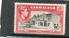 Single George VI (1936-1952) Gibraltarian Stamps