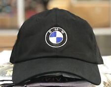 BMW Hat Unstructured Black Dad Hat Cap One Size Adjustable Dad Cap